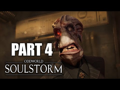 (New) Oddworld soulstorm ps5 gameplay walkthrough part 4: find a way to phat station (no commentary)