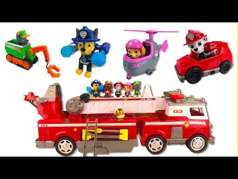 (Ver Filmes) Fizzy learning colors video with paw patrols new firetruck