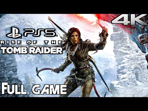 (New) Rise of the tomb raider (ps5) gameplay walkthrough full game (4k 60fps)