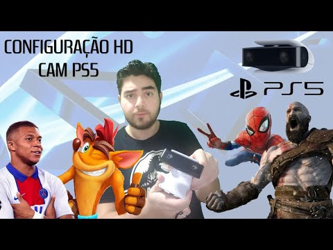 (New) Hd camera ps5 - como configurar camera playstation 5!