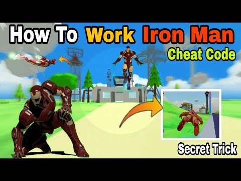 (New) How to work ironman cheat codes | secret trick | new cheat codes | dude theft wars gameplay |