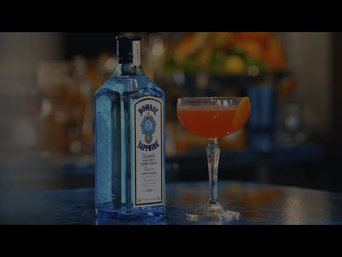 (New) Modern epicurian - bombay sapphire cocktail