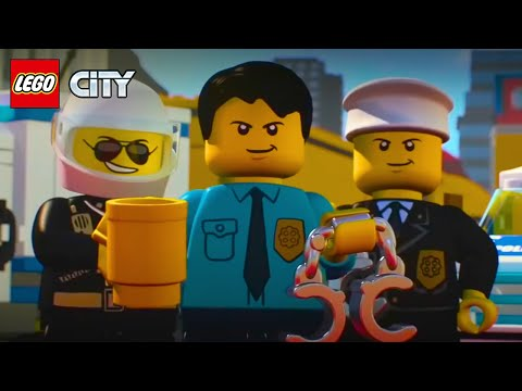 (HD) Lego city police mini movies compilation episode 1 to 6 | lego animation cartoons