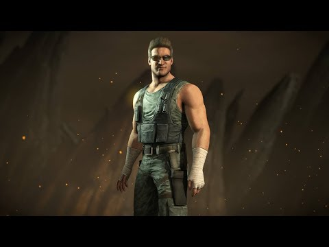 (New) Mortal kombat x | johnny cage - all skins, intro, x-ray, victory pose, fatalities, story ending