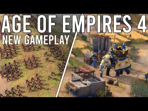 (New) Age of empires 4 new gameplay reveals everything