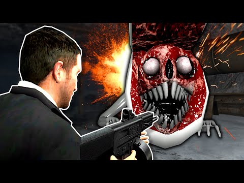 (New) Bridge worm must be stopped! - garrys mod gameplay