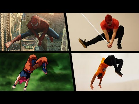 (Ver Filmes) Top stunts 2019 in real life (spiderman, endgame, dragon ball, naruto)
