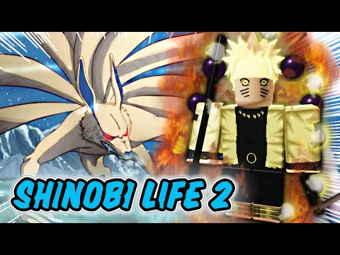 (New) How to get 9 tails!! l shinobi life 2