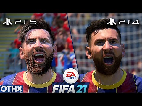 (New) Fifa 21 | ps5 vs ps4 | amazing new gameplay and graphics comparison @onnethox