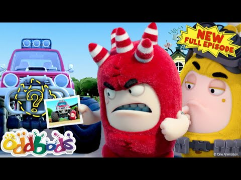 (Ver Filmes) Oddbods | bubbles the detective | new full episode | cartoons for children