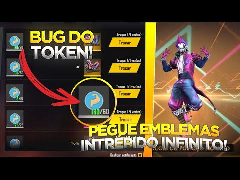 (New) Bug do token intrépido! pegue agora a skin do palhaço noturno e as skins de arma angelical de graça!