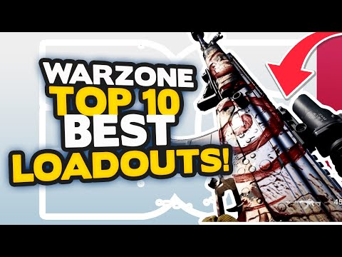 (New) Warzone top 10 best loadouts after dmr nerf! (warzone tips)