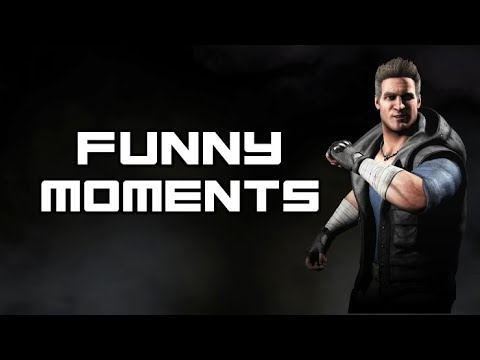 (New) Johnny cage funny moments - mortal kombat 9 e x - (intro dialogues and more)