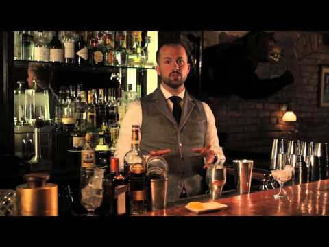(HD) How to make a sidecar - speakeasy cocktails