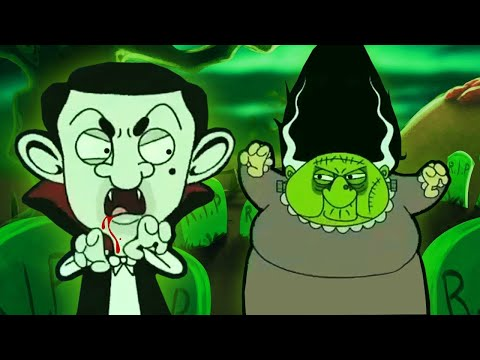 (New) ᴴᴰ mr bean halloween specials! ☺ best new spooky 2016 cartoon collection ☺
