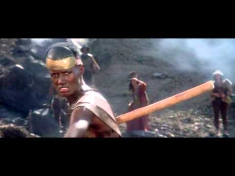 (New) Scenes of grace jones as zula in conan the destroyer - part 1