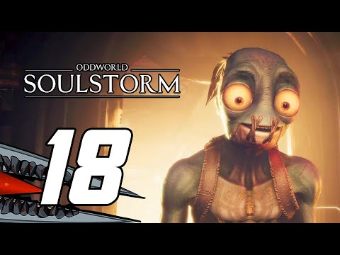 (New) Oddworld: soulstorm (ps5) gameplay walkthrough part 18 - no commentary
