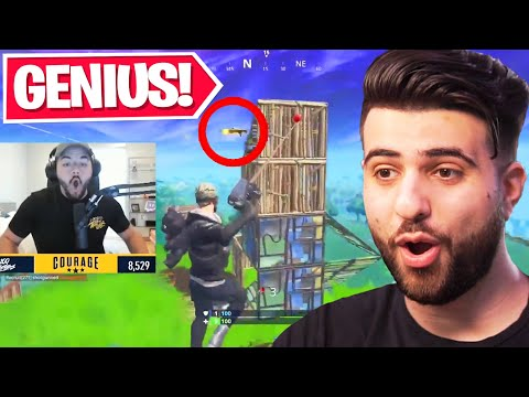 (Ver Filmes) Reacting to the smartest plays in fortnite history...