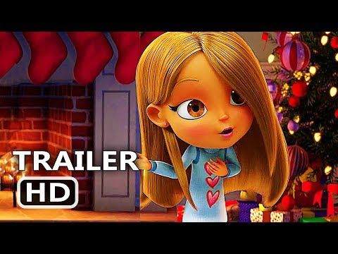 (New) All i want for christmas is you official trailer (2017) mariah carey, animation movie hd