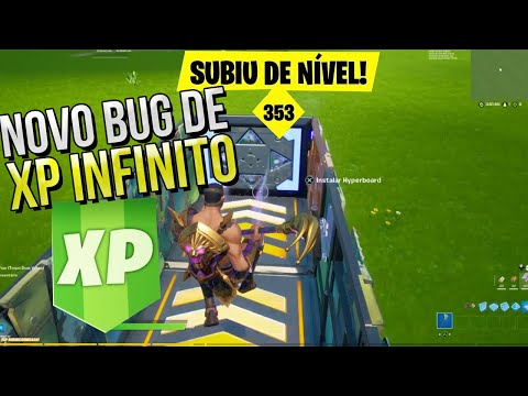 (New) Novo bug de xp infinito no fortnite temporada 5 - pegar xp infinito sem fazer nada - xp fortnite