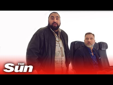(New) Hilarious ba pre-flight safety announcement | chabuddy g