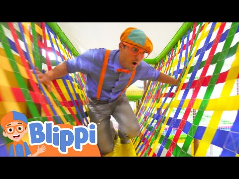 (Ver Filmes) Learning with blippi at an indoor playground for kids | educational videos for toddlers