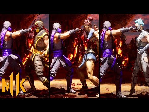 (New) Mortal kombat 11: rain royal execution brutality on all characters