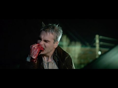 (New) He never died: jack (henry rollins) rips out mans throat