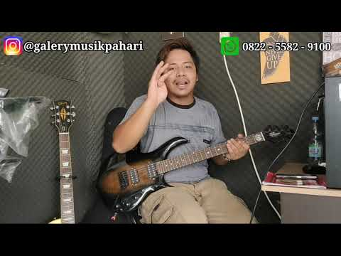 (New) Musicman replica electric guitar review || good guitar makes you happy || galery musik pahari