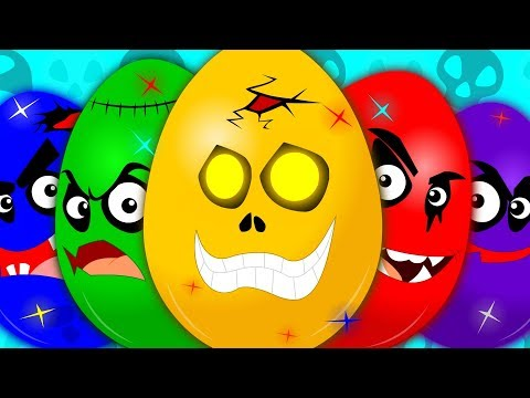 (Ver Filmes) Learn colors | learning video for kids | scary surprise eggs | colors song | eggs with colors