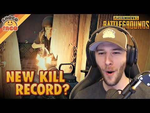 (New) Can chocotaco break his pubg kill record? - pubg solos gameplay