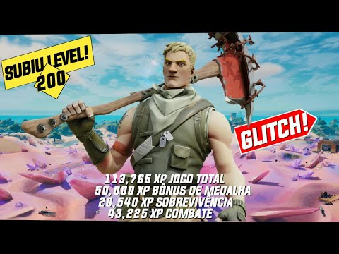 (New) * urgente * novo bug de xp infinito no fortnite temporada 5! ( não é click bait )