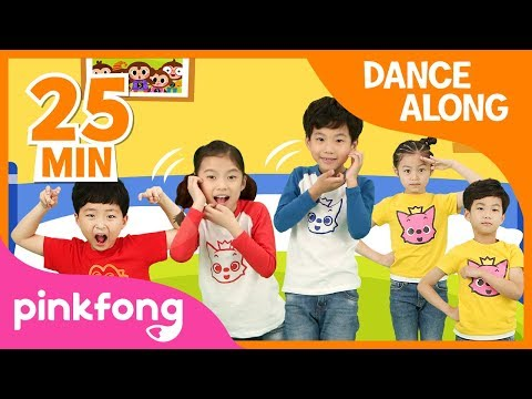 (Ver Filmes) Five little monkeys and more | best kids dance along | +compilation | pinkfong songs for children