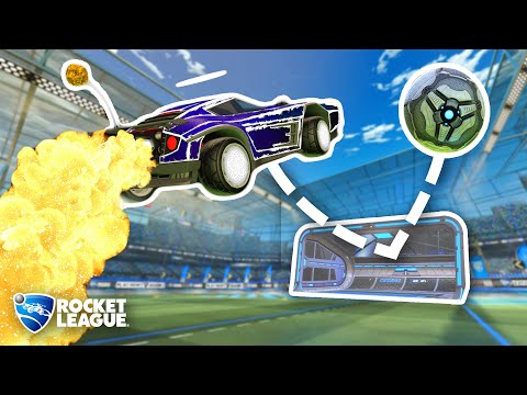 (HD) I made it impossible to score in rocket league and bet pros $100