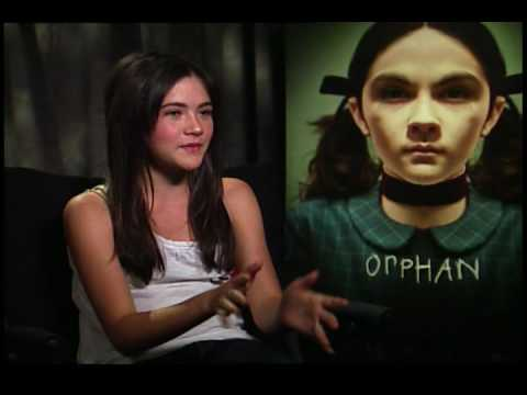 (New) Isabelle fuhrman interview for orphan (the creepy girl haha)