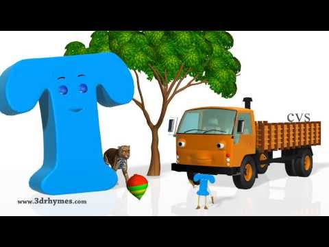 (VFHD Online) Phonics song 4 - 3d animation nursery rhymes phonics songs abc songs for children