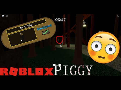 (HD) How to get the secret mr. stitchy skin and the tombstone trap! | roblox piggy