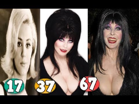 (New) Cassandra peterson ♕ transformation from 20 to 67 years old