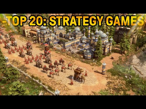 (New) Top 20 strategy games! most popular modern e classic rts games.. 2020 pc