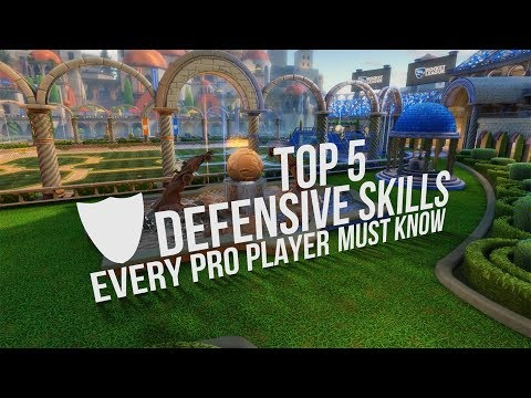 (HD) 5 defensive rocket league tips every pro player must know