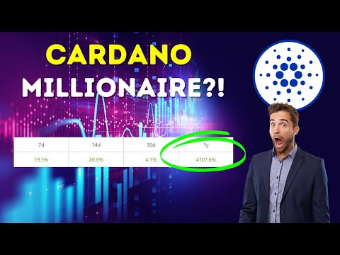 (New) How many cardano to be a millionaire?! - 💸 shocking ada analysis 🤯