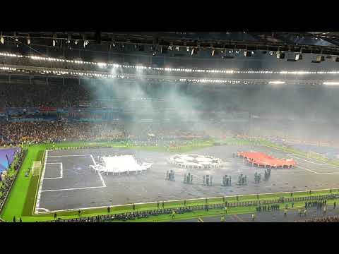 (New) Real madrid vs liverpool champions league final anthem