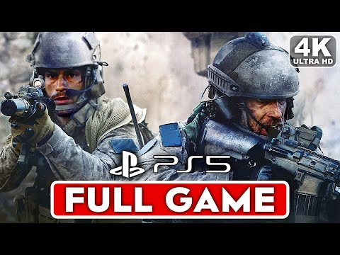 (New) Call of duty modern warfare ps5 gameplay walkthrough part 1 campaign full game 4k 60fps