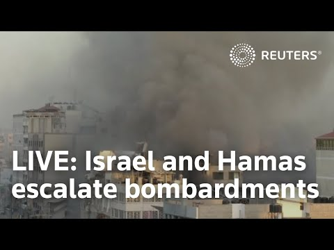 (New) Live: israel and hamas escalate bombardments