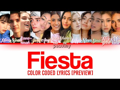 (New) Now united - fiesta (color coded lyrics) [preview]