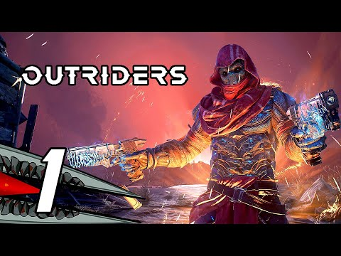 (New) Outriders demo - gameplay walkthrough part 1 (no commentary, ps5, 4k)