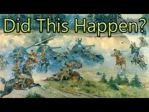 (New) Did polish cavalry charge german tanks? - the real story of krojanty