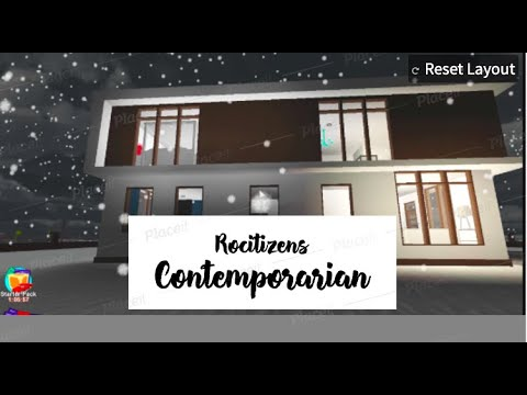 (New) Rocitizens house tour the contemporarian!! i moved????!!
