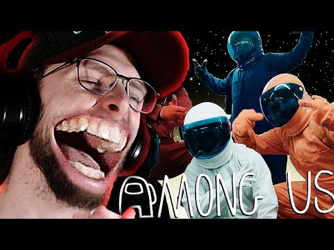 (New) Reacting to among us but its a reality show!!