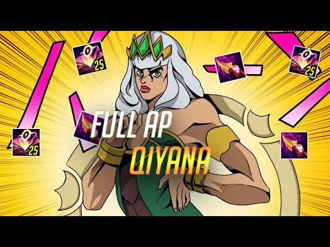 (New) Ap qiyana doesnt exi... challenger visits silver gold elo - 11.7 patch